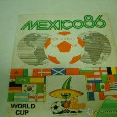 Álbum de fútbol completo: ALBUM MEXICO 86 PANINI DE FUTBOL. Lote 41386341