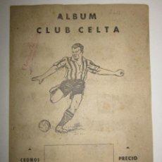 Álbum de fútbol completo: CLUB CELTA - ALBUM COMPLETO - EDITORIAL VALENCIANA -(ALB- 56). Lote 41386781