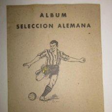 Álbum de fútbol completo: SELECCION ALEMANA - ALBUM COMPLETO - EDITORIAL VALENCIANA -(ALB- 57). Lote 41386834