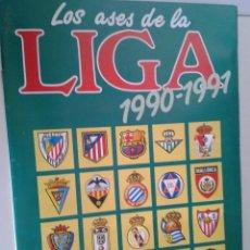 Álbum de fútbol completo: LOS ASES DE LA LIGA 1990-1991 - AS . Lote 41484298