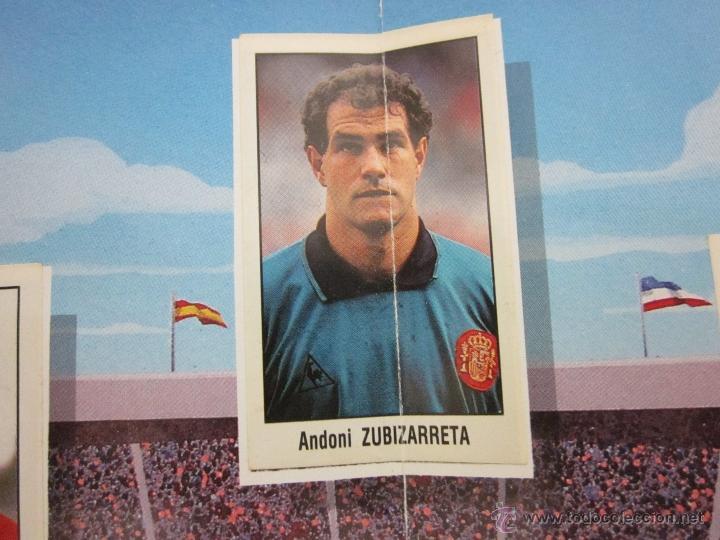 Álbum de fútbol completo: POSTER MI SELECCION NACIONAL- MAS TRES CROMOS SUELTOS- PUBLICIDAD CHORIZO REVILLA - (ALB -75) - Foto 2 - 41514478