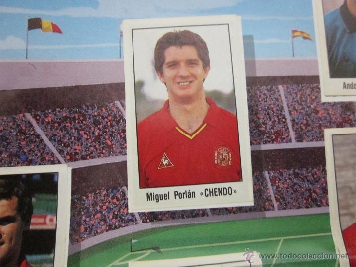 Álbum de fútbol completo: POSTER MI SELECCION NACIONAL- MAS TRES CROMOS SUELTOS- PUBLICIDAD CHORIZO REVILLA - (ALB -75) - Foto 3 - 41514478