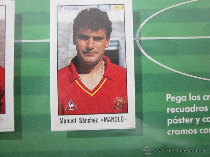 Álbum de fútbol completo: POSTER MI SELECCION NACIONAL- MAS TRES CROMOS SUELTOS- PUBLICIDAD CHORIZO REVILLA - (ALB -75) - Foto 10 - 41514478