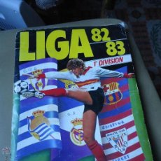 Álbum de fútbol completo: ALBUM EDICIONES ESTE 82 83 1982 1983 COMPLETO UN CROMO POR CASILLA. Lote 41569599