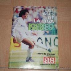 Álbum de fútbol completo: ALBUM CAMPEONATO DE LIGA 88-89 AS (COMPLETO). Lote 41625284