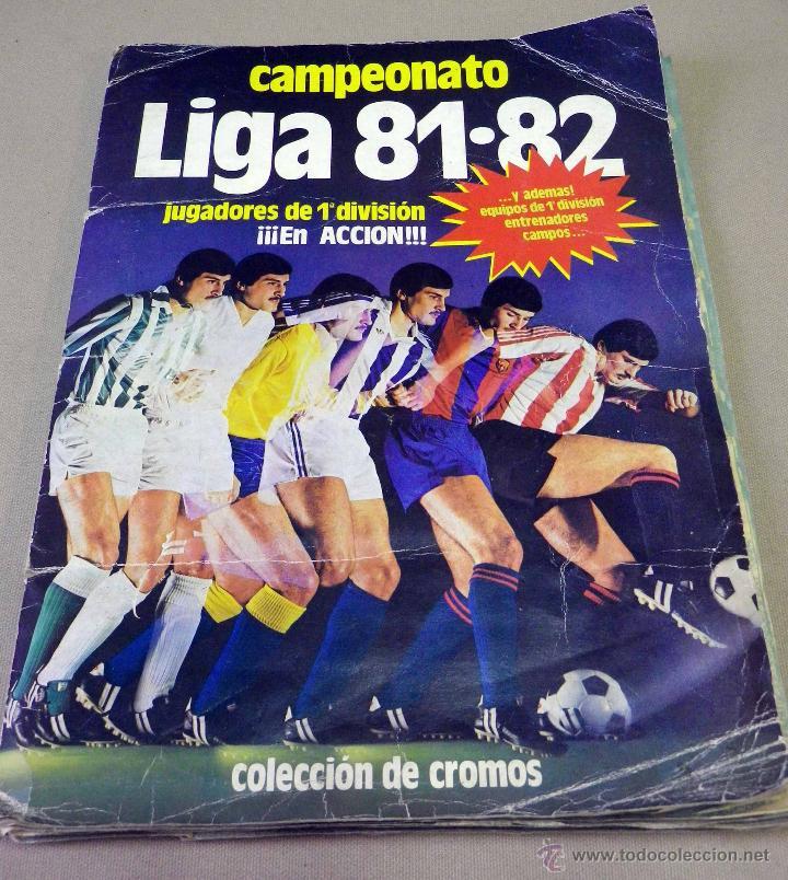 ALBUM DE FUTBOL, LIGA 81 - 82, 1981 - 1982, EDICIONES ESTE, COMPLETO, (VER FOTOS) (Coleccionismo Deportivo - Álbumes y Cromos de Deportes - Álbumes de Fútbol Completos)