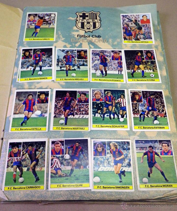 Álbum de fútbol completo: ALBUM DE FUTBOL, LIGA 81 - 82, 1981 - 1982, EDICIONES ESTE, COMPLETO, (VER FOTOS) - Foto 2 - 41789651