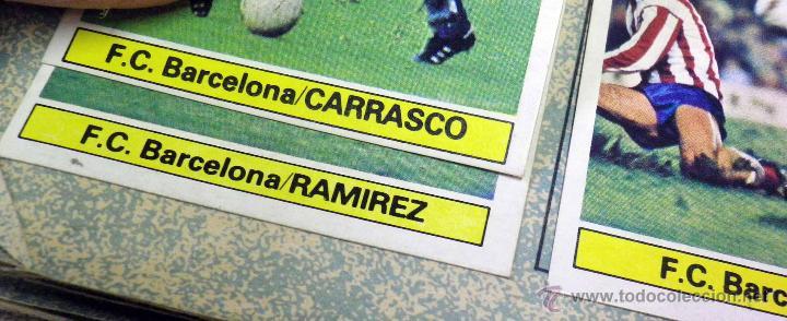 Álbum de fútbol completo: ALBUM DE FUTBOL, LIGA 81 - 82, 1981 - 1982, EDICIONES ESTE, COMPLETO, (VER FOTOS) - Foto 6 - 41789651