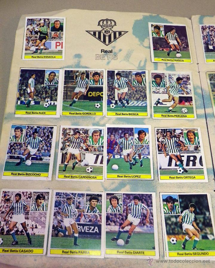 Álbum de fútbol completo: ALBUM DE FUTBOL, LIGA 81 - 82, 1981 - 1982, EDICIONES ESTE, COMPLETO, (VER FOTOS) - Foto 8 - 41789651
