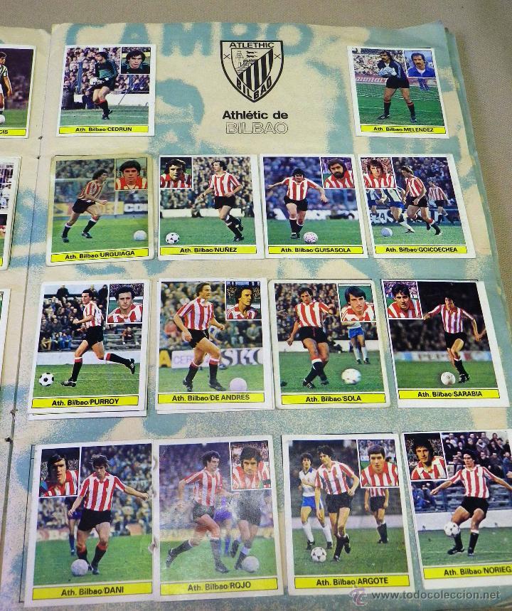Álbum de fútbol completo: ALBUM DE FUTBOL, LIGA 81 - 82, 1981 - 1982, EDICIONES ESTE, COMPLETO, (VER FOTOS) - Foto 11 - 41789651
