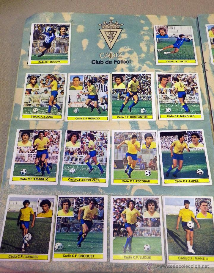 Álbum de fútbol completo: ALBUM DE FUTBOL, LIGA 81 - 82, 1981 - 1982, EDICIONES ESTE, COMPLETO, (VER FOTOS) - Foto 15 - 41789651