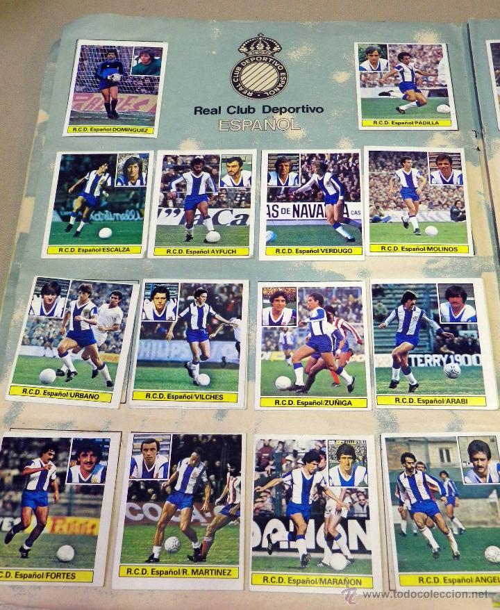 Álbum de fútbol completo: ALBUM DE FUTBOL, LIGA 81 - 82, 1981 - 1982, EDICIONES ESTE, COMPLETO, (VER FOTOS) - Foto 21 - 41789651