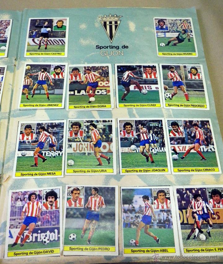 Álbum de fútbol completo: ALBUM DE FUTBOL, LIGA 81 - 82, 1981 - 1982, EDICIONES ESTE, COMPLETO, (VER FOTOS) - Foto 23 - 41789651