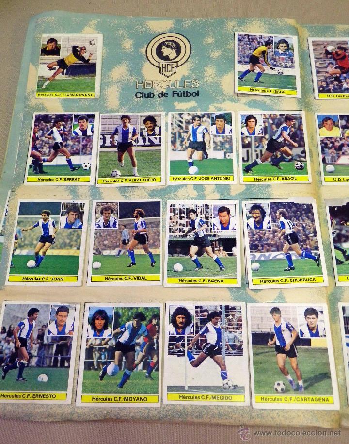 Álbum de fútbol completo: ALBUM DE FUTBOL, LIGA 81 - 82, 1981 - 1982, EDICIONES ESTE, COMPLETO, (VER FOTOS) - Foto 25 - 41789651