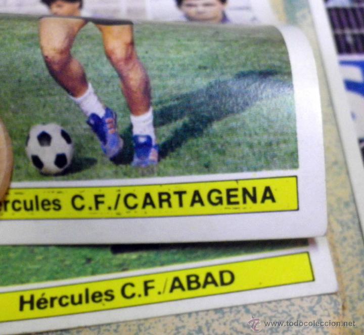 Álbum de fútbol completo: ALBUM DE FUTBOL, LIGA 81 - 82, 1981 - 1982, EDICIONES ESTE, COMPLETO, (VER FOTOS) - Foto 26 - 41789651
