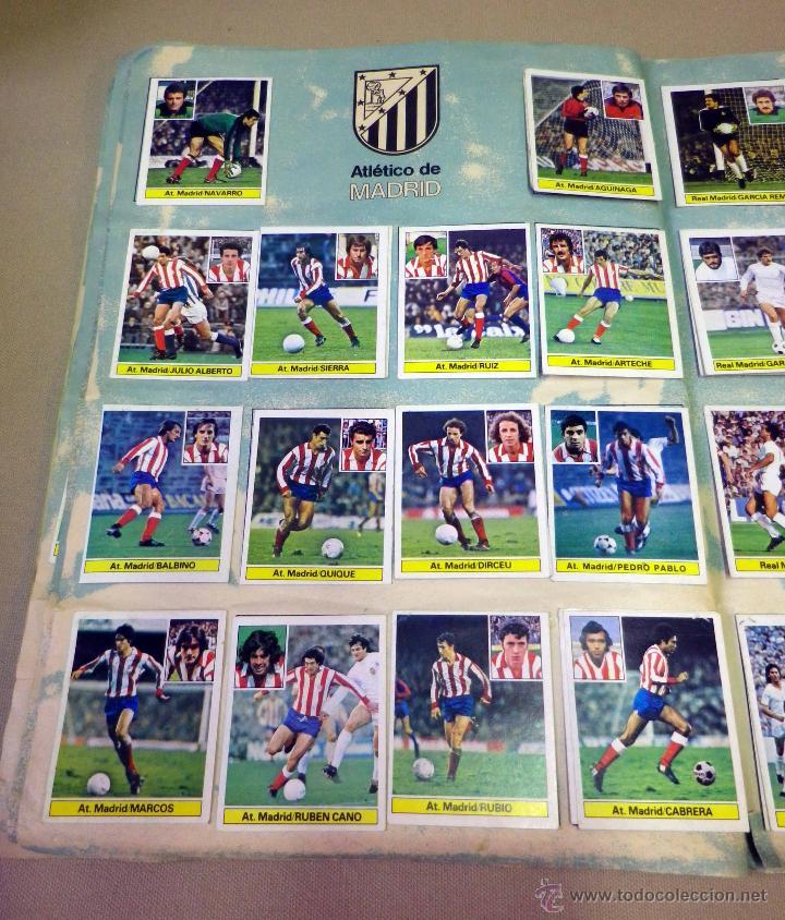 Álbum de fútbol completo: ALBUM DE FUTBOL, LIGA 81 - 82, 1981 - 1982, EDICIONES ESTE, COMPLETO, (VER FOTOS) - Foto 33 - 41789651