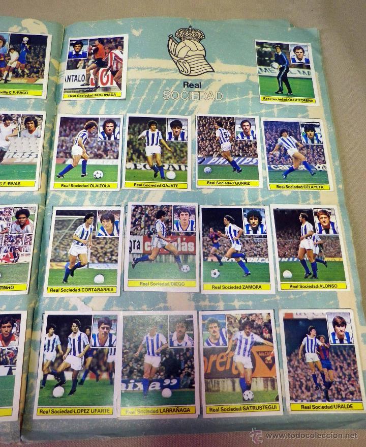 Álbum de fútbol completo: ALBUM DE FUTBOL, LIGA 81 - 82, 1981 - 1982, EDICIONES ESTE, COMPLETO, (VER FOTOS) - Foto 57 - 41789651