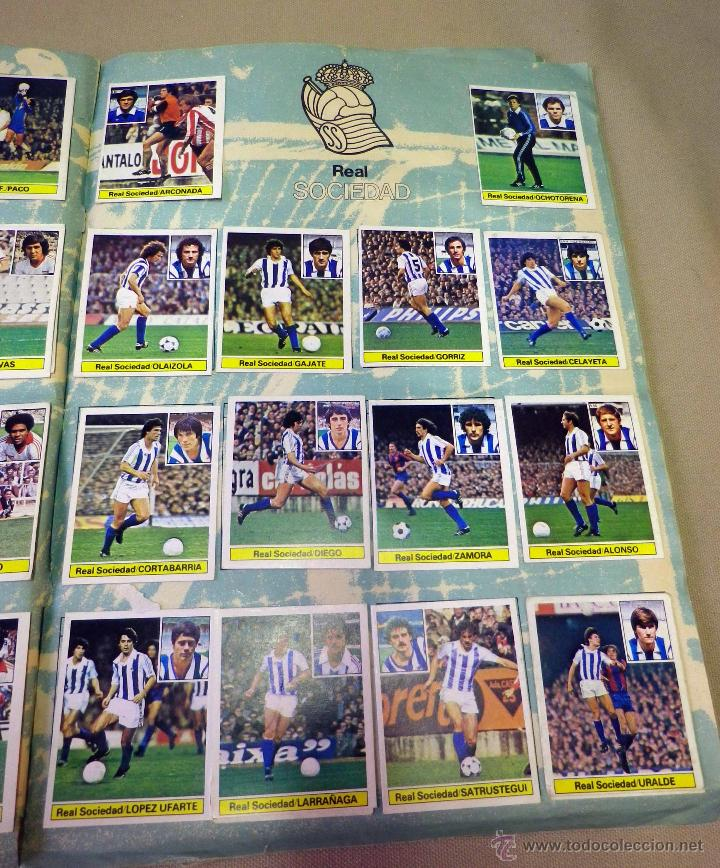 Álbum de fútbol completo: ALBUM DE FUTBOL, LIGA 81 - 82, 1981 - 1982, EDICIONES ESTE, COMPLETO, (VER FOTOS) - Foto 58 - 41789651