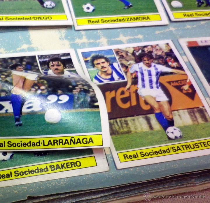 Álbum de fútbol completo: ALBUM DE FUTBOL, LIGA 81 - 82, 1981 - 1982, EDICIONES ESTE, COMPLETO, (VER FOTOS) - Foto 59 - 41789651