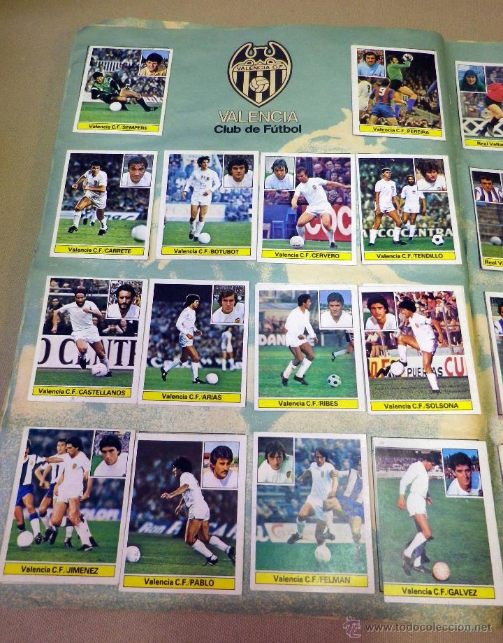 Álbum de fútbol completo: ALBUM DE FUTBOL, LIGA 81 - 82, 1981 - 1982, EDICIONES ESTE, COMPLETO, (VER FOTOS) - Foto 60 - 41789651