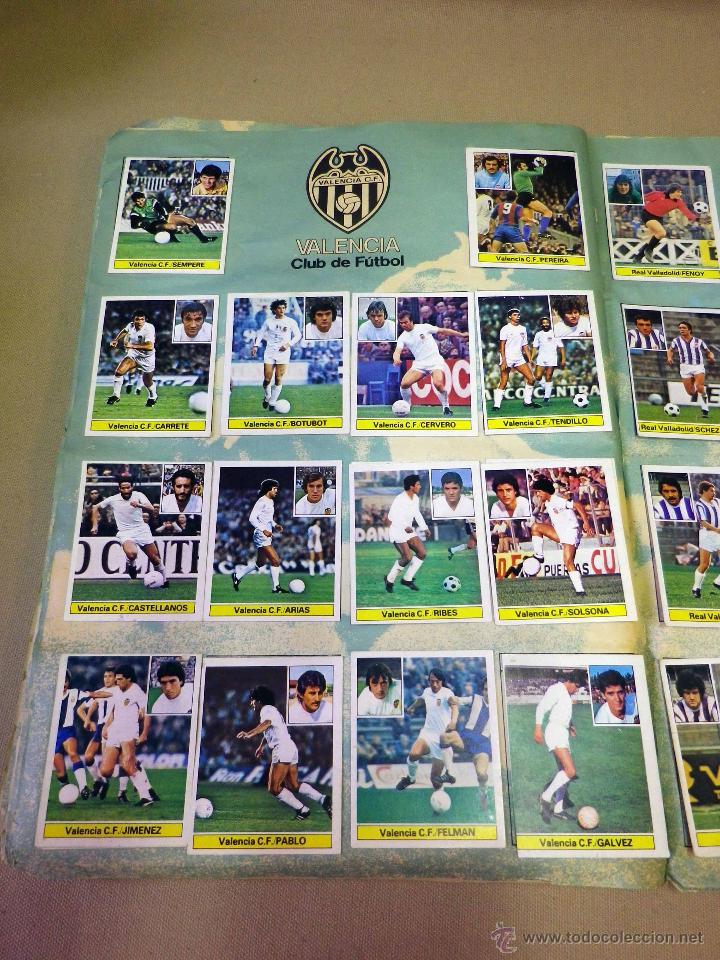 Álbum de fútbol completo: ALBUM DE FUTBOL, LIGA 81 - 82, 1981 - 1982, EDICIONES ESTE, COMPLETO, (VER FOTOS) - Foto 61 - 41789651