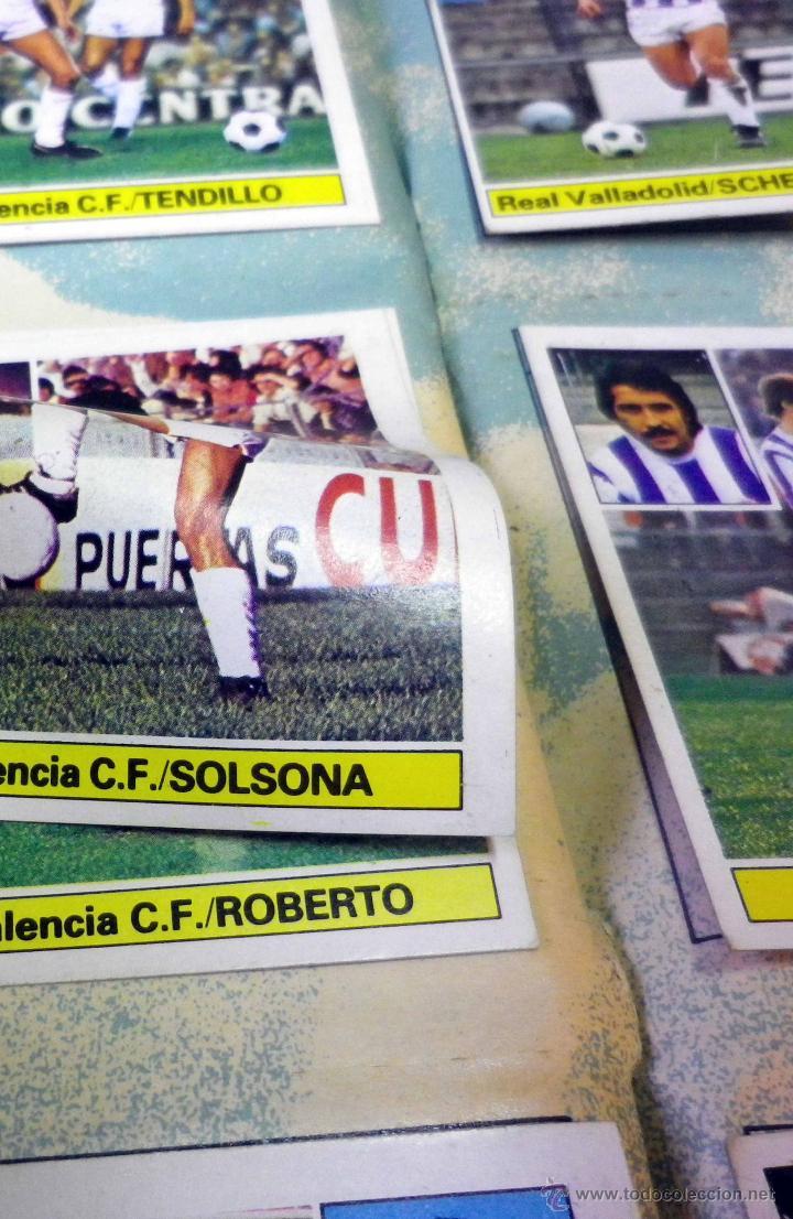Álbum de fútbol completo: ALBUM DE FUTBOL, LIGA 81 - 82, 1981 - 1982, EDICIONES ESTE, COMPLETO, (VER FOTOS) - Foto 62 - 41789651