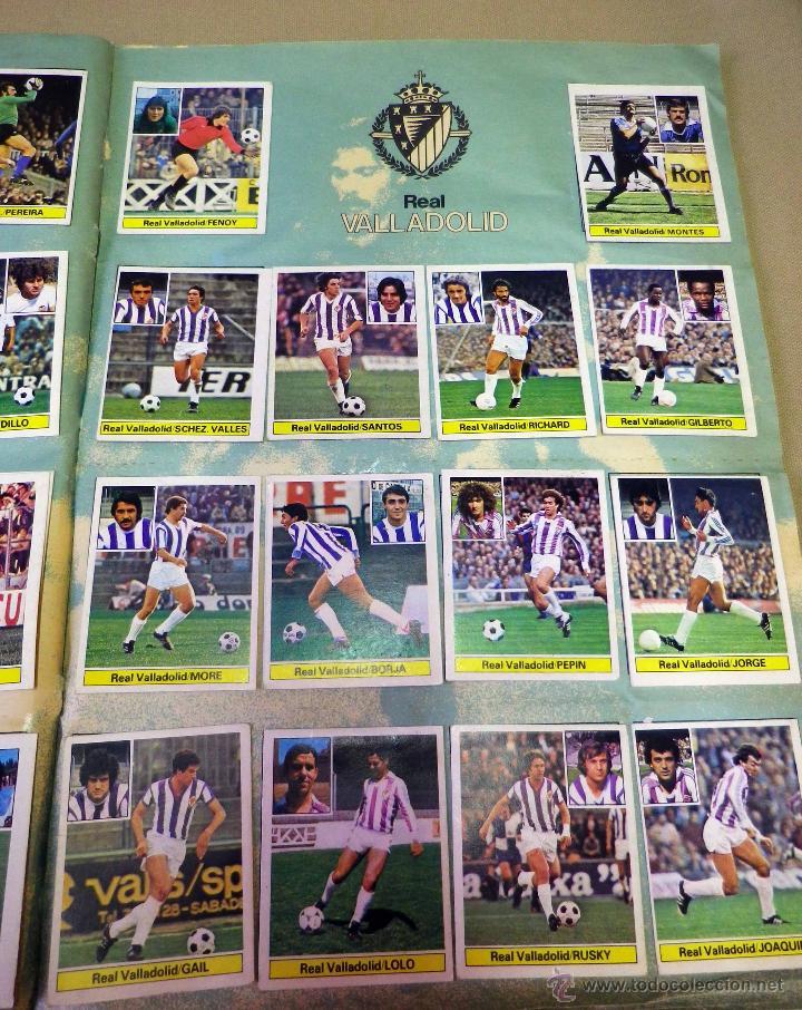 Álbum de fútbol completo: ALBUM DE FUTBOL, LIGA 81 - 82, 1981 - 1982, EDICIONES ESTE, COMPLETO, (VER FOTOS) - Foto 65 - 41789651