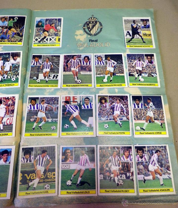 Álbum de fútbol completo: ALBUM DE FUTBOL, LIGA 81 - 82, 1981 - 1982, EDICIONES ESTE, COMPLETO, (VER FOTOS) - Foto 66 - 41789651