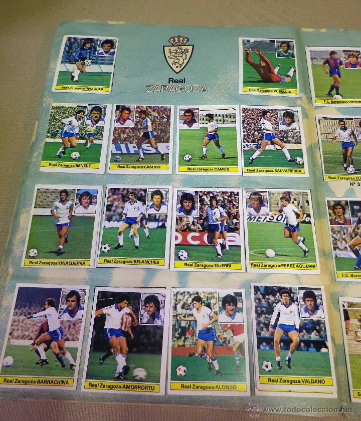 Álbum de fútbol completo: ALBUM DE FUTBOL, LIGA 81 - 82, 1981 - 1982, EDICIONES ESTE, COMPLETO, (VER FOTOS) - Foto 70 - 41789651
