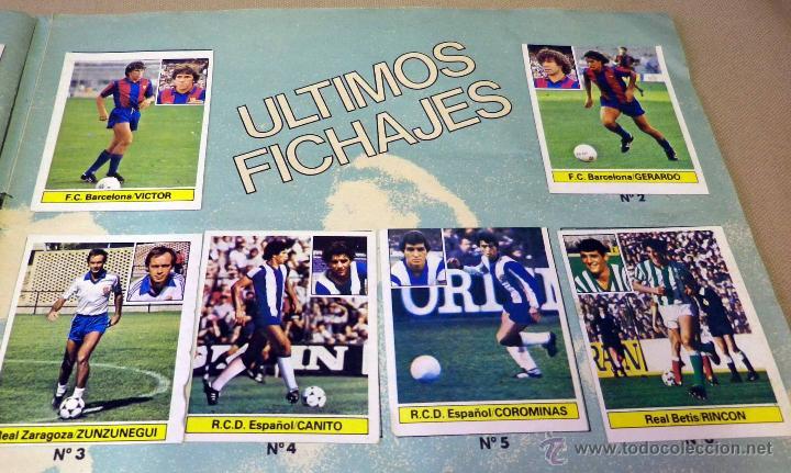 Álbum de fútbol completo: ALBUM DE FUTBOL, LIGA 81 - 82, 1981 - 1982, EDICIONES ESTE, COMPLETO, (VER FOTOS) - Foto 72 - 41789651