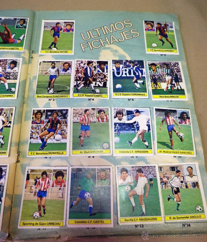 Álbum de fútbol completo: ALBUM DE FUTBOL, LIGA 81 - 82, 1981 - 1982, EDICIONES ESTE, COMPLETO, (VER FOTOS) - Foto 75 - 41789651