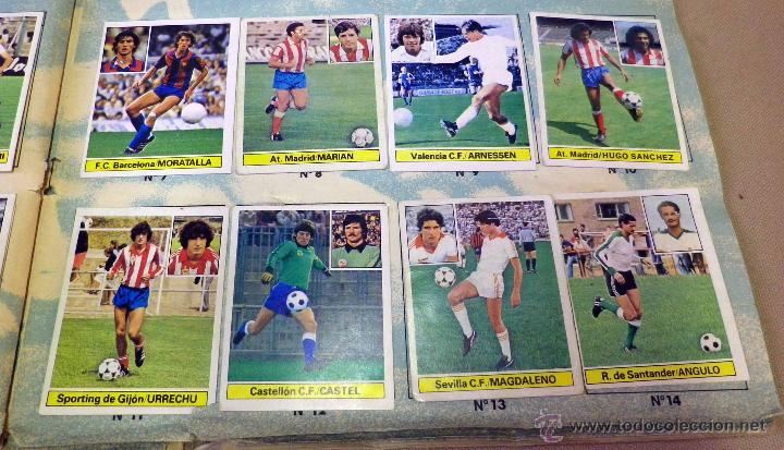 Álbum de fútbol completo: ALBUM DE FUTBOL, LIGA 81 - 82, 1981 - 1982, EDICIONES ESTE, COMPLETO, (VER FOTOS) - Foto 77 - 41789651