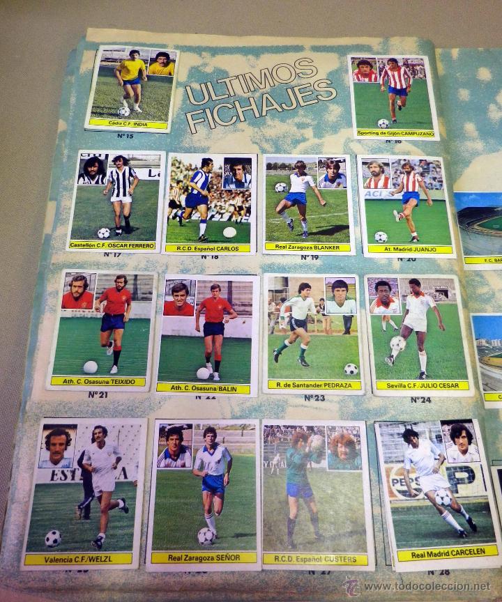 Álbum de fútbol completo: ALBUM DE FUTBOL, LIGA 81 - 82, 1981 - 1982, EDICIONES ESTE, COMPLETO, (VER FOTOS) - Foto 78 - 41789651