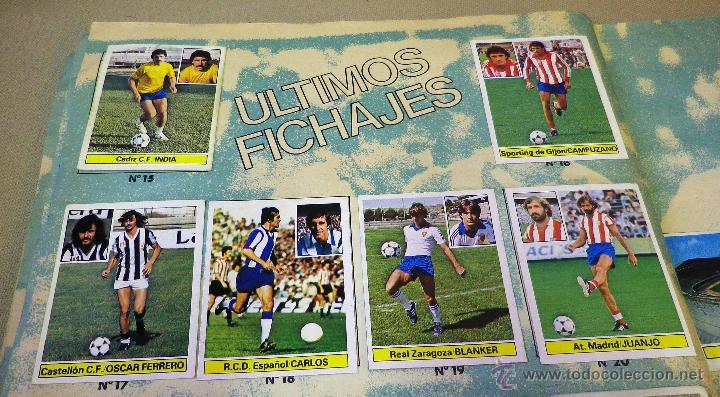Álbum de fútbol completo: ALBUM DE FUTBOL, LIGA 81 - 82, 1981 - 1982, EDICIONES ESTE, COMPLETO, (VER FOTOS) - Foto 79 - 41789651