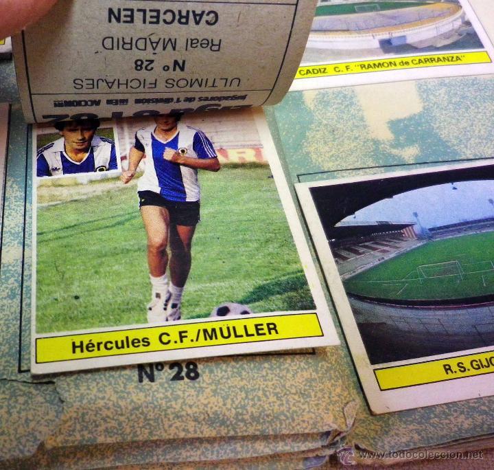 Álbum de fútbol completo: ALBUM DE FUTBOL, LIGA 81 - 82, 1981 - 1982, EDICIONES ESTE, COMPLETO, (VER FOTOS) - Foto 82 - 41789651