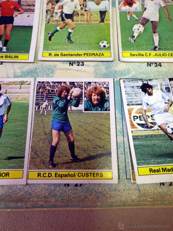 Álbum de fútbol completo: ALBUM DE FUTBOL, LIGA 81 - 82, 1981 - 1982, EDICIONES ESTE, COMPLETO, (VER FOTOS) - Foto 83 - 41789651