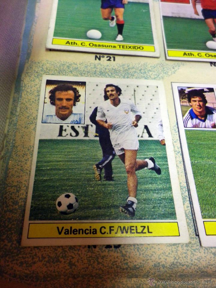 Álbum de fútbol completo: ALBUM DE FUTBOL, LIGA 81 - 82, 1981 - 1982, EDICIONES ESTE, COMPLETO, (VER FOTOS) - Foto 84 - 41789651