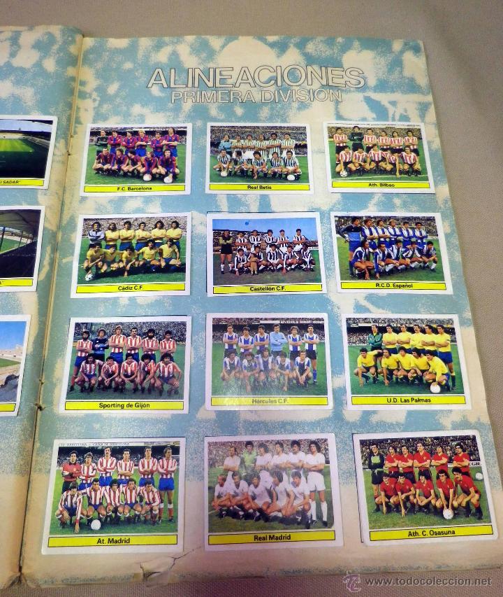 Álbum de fútbol completo: ALBUM DE FUTBOL, LIGA 81 - 82, 1981 - 1982, EDICIONES ESTE, COMPLETO, (VER FOTOS) - Foto 88 - 41789651