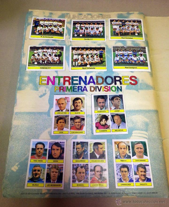 Álbum de fútbol completo: ALBUM DE FUTBOL, LIGA 81 - 82, 1981 - 1982, EDICIONES ESTE, COMPLETO, (VER FOTOS) - Foto 89 - 41789651