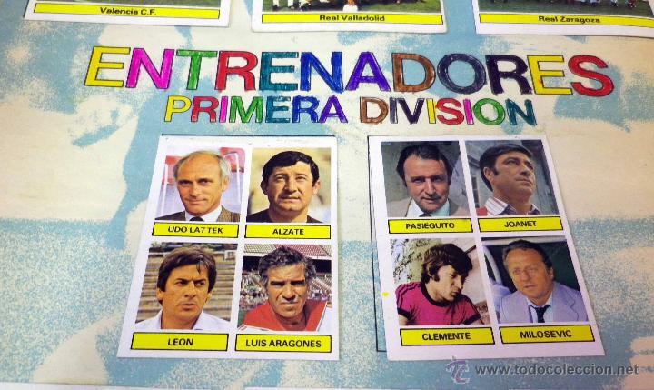 Álbum de fútbol completo: ALBUM DE FUTBOL, LIGA 81 - 82, 1981 - 1982, EDICIONES ESTE, COMPLETO, (VER FOTOS) - Foto 90 - 41789651