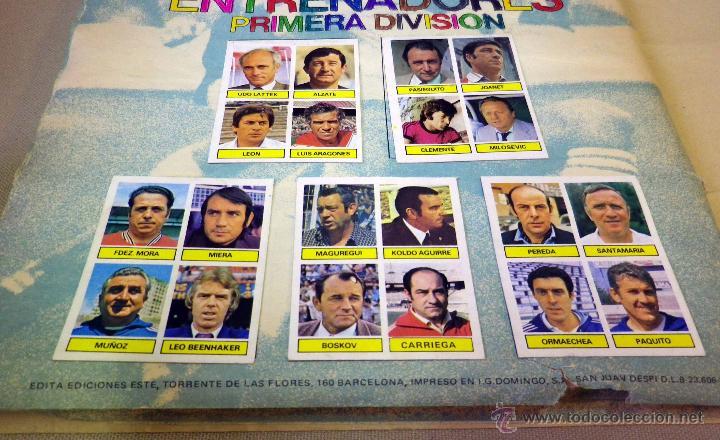 Álbum de fútbol completo: ALBUM DE FUTBOL, LIGA 81 - 82, 1981 - 1982, EDICIONES ESTE, COMPLETO, (VER FOTOS) - Foto 91 - 41789651