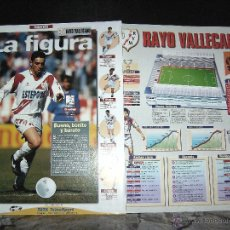 Álbum de fútbol completo: ESTRELLAS DE LA LIGA , INTERVIU EL ALBUM SUELTAS EL EQUIPO, RAYO VALLECANO. Lote 41807088