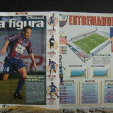 Álbum de fútbol completo: ESTRELLAS DE LA LIGA , INTERVIU EL ALBUM FICHA SUELTAS EL EQUIPO, EXTREMADURA. Lote 41807714