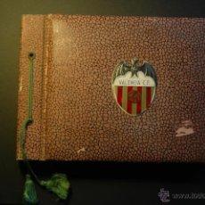 Álbum de fútbol completo: ÁLBUM DEL VALENCIA C.F. CONTIENE 44 LÁMINAS. TEMPORADA 56-57. Lote 41904956