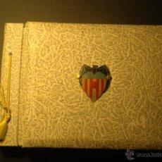 Álbum de fútbol completo: ÁLBUM DEL VALENCIA C.F. CONTIENE 47 LÁMINAS. TEMPORADA 58-59. Lote 41907884