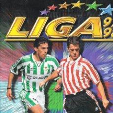 Álbum de fútbol completo: ÁLBUM COMPLETO ESTE 97/98 BUEN ESTADO. Lote 57295155