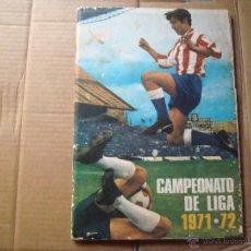 Álbum de fútbol completo: EDITORIAL FHER DISGRA 1971-1972 71-72 COMPLETO CON POSTER CENTRAL. Lote 42542735