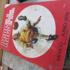 Álbum de fútbol completo: ASES DEL IX MUNDIAL DE FUTBOL MEXICO JUNIO 1970.. Lote 42756929