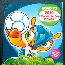 Álbum de fútbol completo: ALBUM DE CROMOS PANINI COPA CAMINO A LA COPA DEL MUNDO FIFA BRASIL 2014 - 100% COMPLETO A PEGAR. Lote 42838028