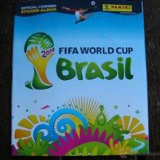 Álbum de fútbol completo: MUNDIAL 2014 BRASIL COLECCION COMPLETA ALBUM + CROMOS SUELTOS. Lote 43579677
